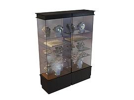 珠宝高柜3d模型