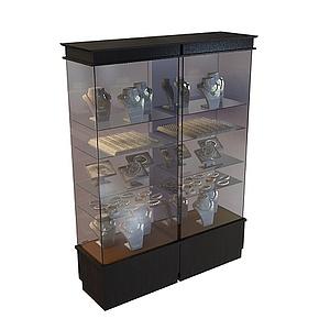 3d珠寶高柜模型