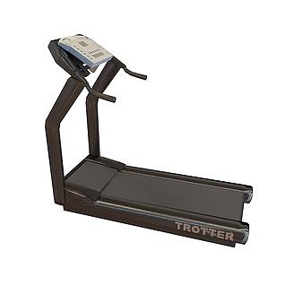 跑步机3d模型