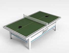 乒乓球台3d模型
