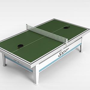 3d乒乓球台模型