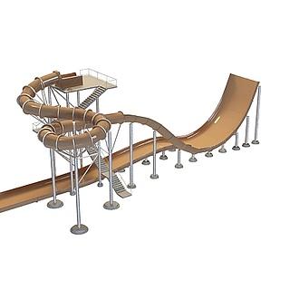 游乐设备3d模型