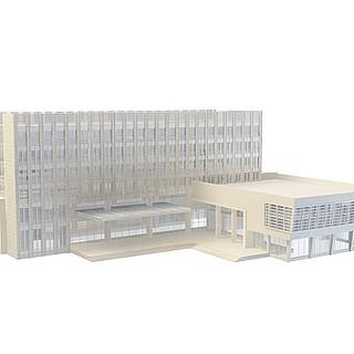 商业建筑3d模型