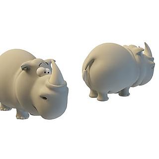 卡通小玩具3d模型