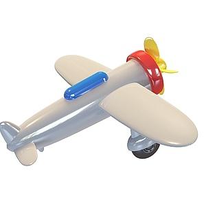 3d卡通<font class='myIsRed'>飞机</font>模型