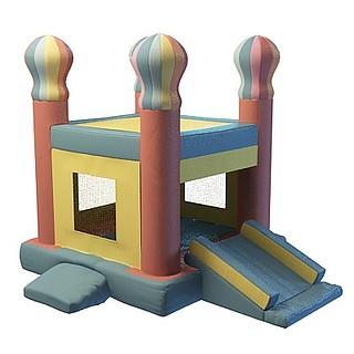 室内卡通城堡3d模型