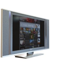 3d臥室<font class='myIsRed'>電視機</font>模型