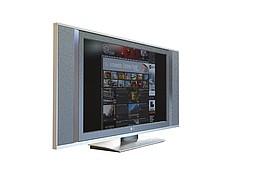 卧室<font class='myIsRed'>电视机</font>3d模型
