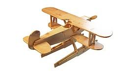 玩具木质<font class='myIsRed'>飞机</font>3d模型