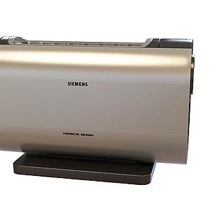 现代投影机3d模型