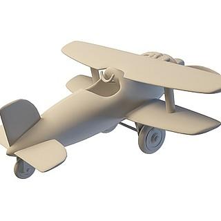 儿童<font class='myIsRed'>飞机</font>3d模型