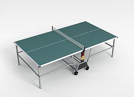 兵乓球台3d模型