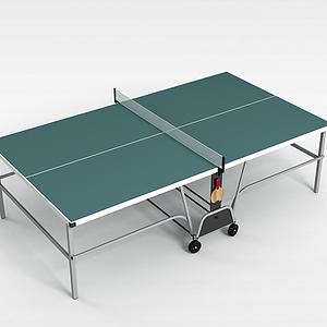 3d兵乓球台模型
