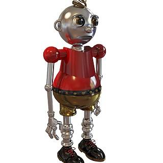 卡通机器人3d模型