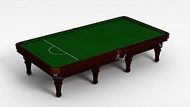 桌球台子3d模型