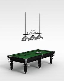 娱乐桌球台3d模型