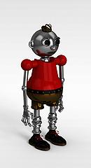 卡通机器人模型3d模型