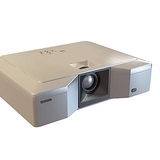 会议投影机设备3d模型