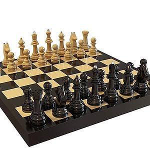 3d<font class='myIsRed'>国际象棋</font>模型