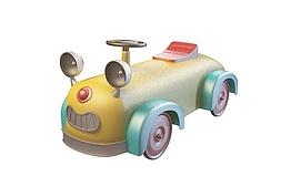 儿童玩具卡通车3d模型