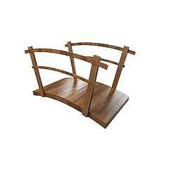 木桥模型3d模型