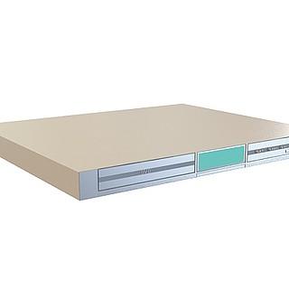 DVD影视设备3d模型