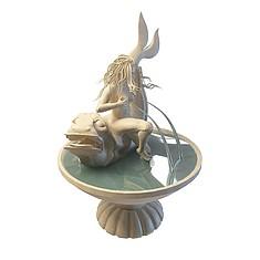 喷泉3D模型3d模型