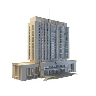 办公大厦3d模型