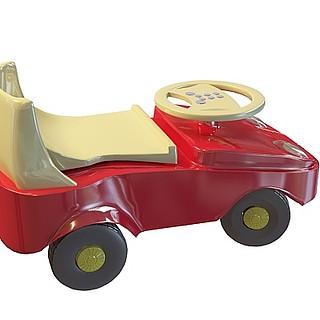 儿童游乐车3d模型