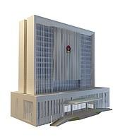 警政大楼3D模型3d模型