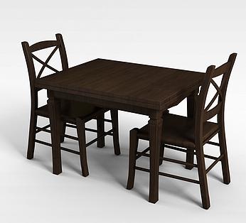 二人餐桌椅组合