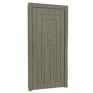 欧式木质白色门3d模型_欧式木质白色门3d模型下载_3d