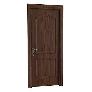 卧室门3d模型