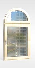欧式带玻璃窗户3D模型3d模型
