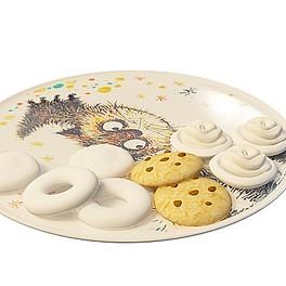 饼干食品3D模型