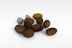 土豆模型3d模型