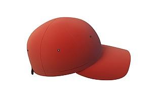 3d红色棒球帽模型