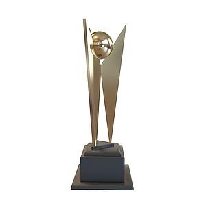 奖杯模型3d模型