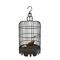 鸟笼3D模型3d模型