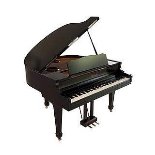 演奏钢琴3d模型