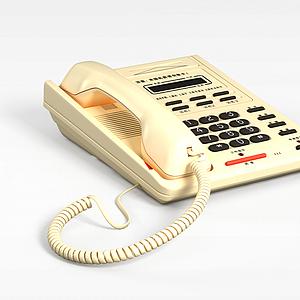 3d<font class='myIsRed'>電話</font>機模型