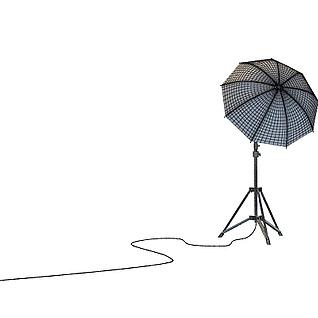 反光伞3d模型