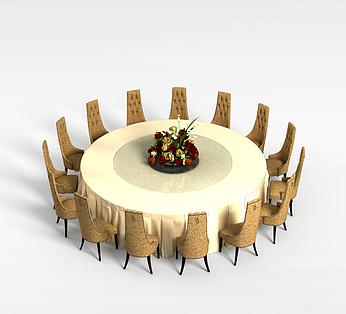 15人餐桌椅组合