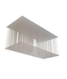透明水晶吸顶灯3d模型