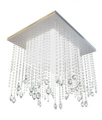 酒店水晶吸顶灯模型3d模型