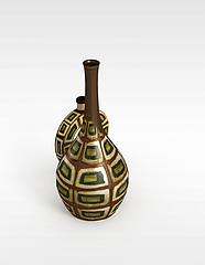 瓷瓶模型3d模型