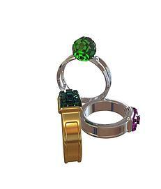 戒指3d模型