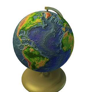 地球仪3d模型