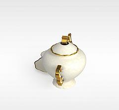 茶壶模型3d模型