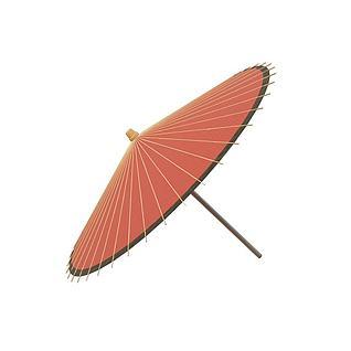 雨伞3d模型